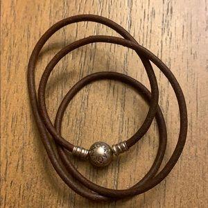 Pandora brown bracelet